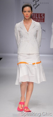 Rahul Reddy at WLIFW SS 2012