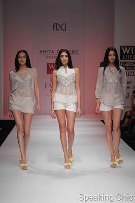 Anita Donegre at WLIFW S/S 2012