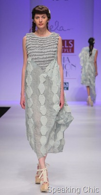 Ela by Joyjit Talukdar at WLIFW SS 2012