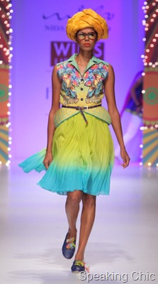 Nida Mahmood at WLIFW SS 2012