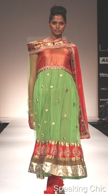 Payal Kapoor at LFW W/F 2011