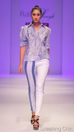 Rahul Singh at WLIFW S/S 2012