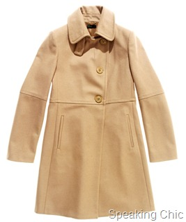 winter coat from Benetton