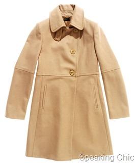winter coat from Benetton
