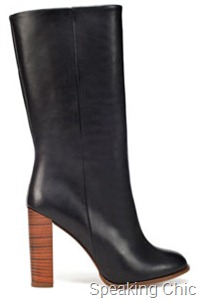 Zara basic heel boot