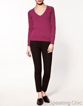 Zara-basic sweater