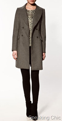 zara-houndstooth check coat