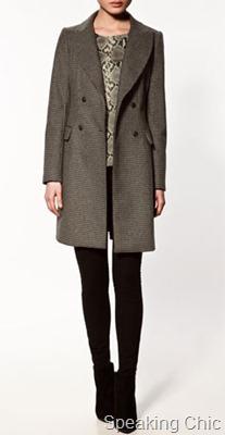 zara-houndstooth check coat