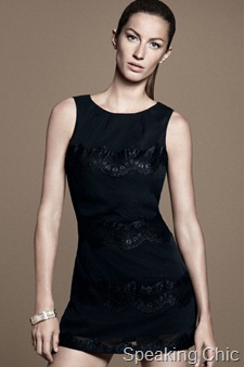 Black dress from Esprit