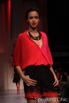 Nachiket Barve shorts at LFW W/F 2011