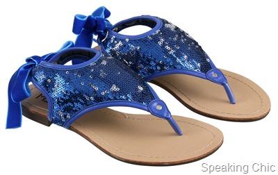 Metro shoes blue tie-ups