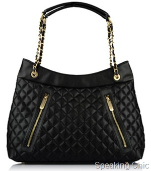 Charles Keith quilted bag