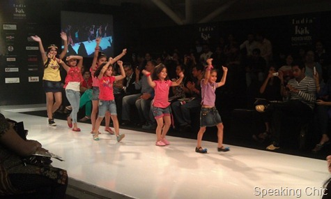 India Kids Fashion Week-OMG show