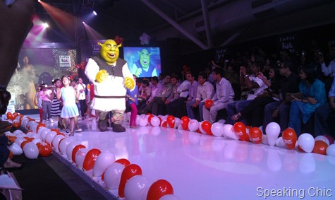 India Kids Fashion Week- Shrek