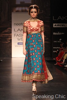 brocade-Neeta Lulla at LFW W/F 2011