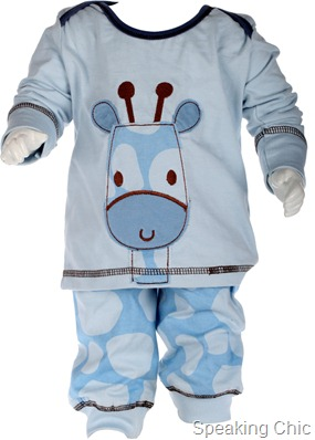 cool nightdress for  cooler nights from JFK (Just For Kids)