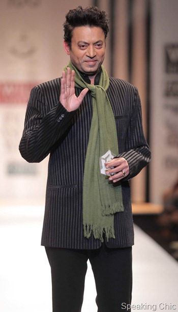 Irfan Khan at WIFW AW 2012