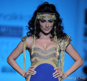 Chitrangada Singh at WIFW A/W 2012