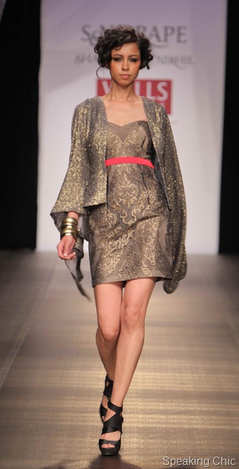 S&N Drape by Shantanu-Nikhil at WIFW AW 2012