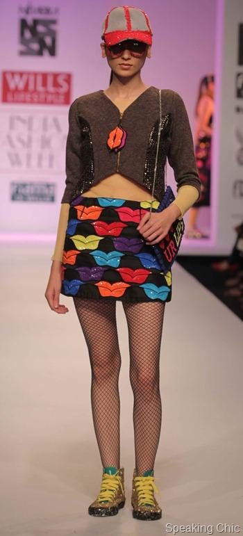 Niharika at WIFW AW 2012