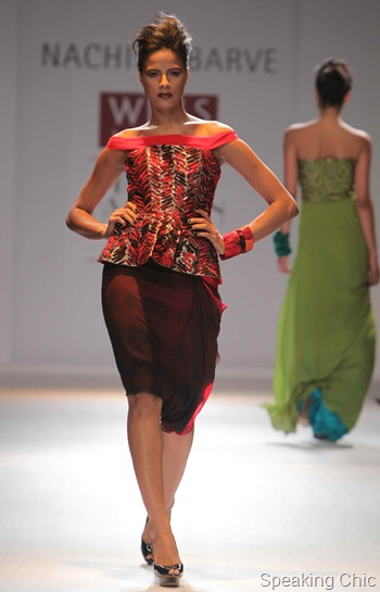 Nachiket Barve at WIFW A/W 2012