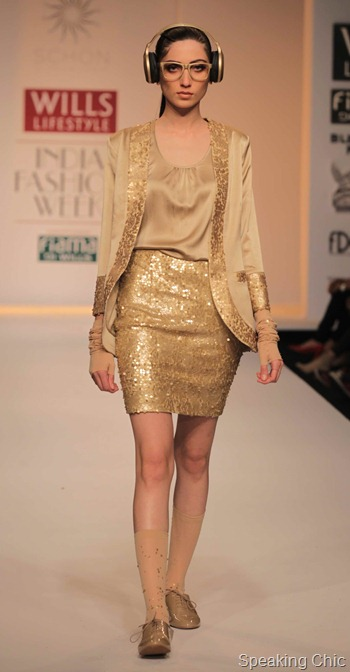 Schon by Sakshi Pradhan at WIFW AW 2012