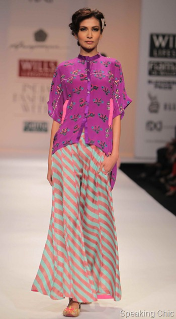 Anuapama Dayal at WIFW AW 2012