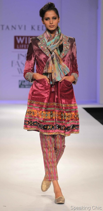 Tanvi Kedia at WIFW AW 2012