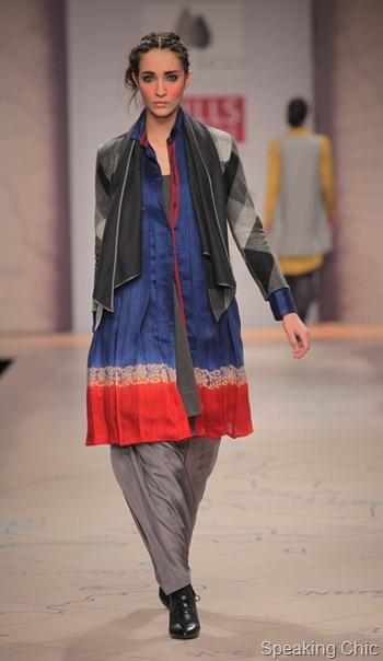 Anju Modi at WIFW AW 2012