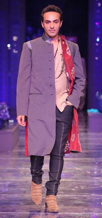 JJ Valaya at WIFW AW 2012