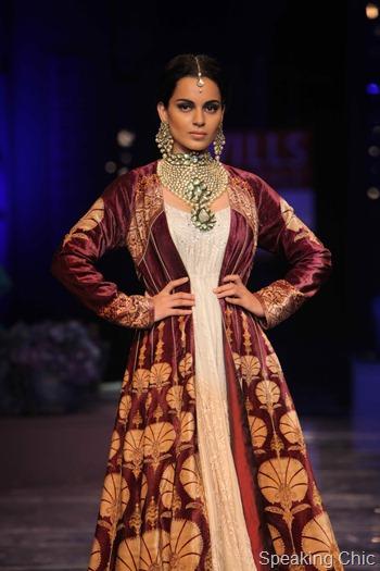 Kangana Ranaut at WIFW AW 2012