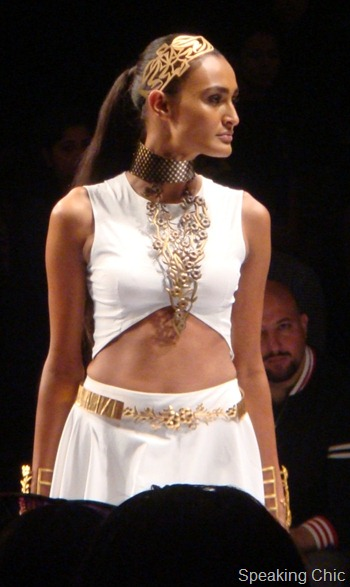 Suhani Pittie at LFW S/R 2012