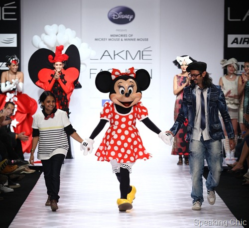 Disney Couture presents Memories of Mickey Mouse and Minnie Mouse by Little Shilpa & Nitin Bal Chauhan8