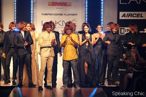 Narendra Kumar at LFW S/R 2012