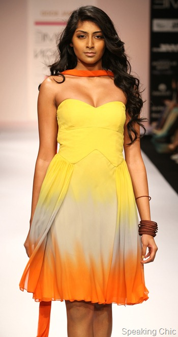 Komal Sood at LFW S/R 2012