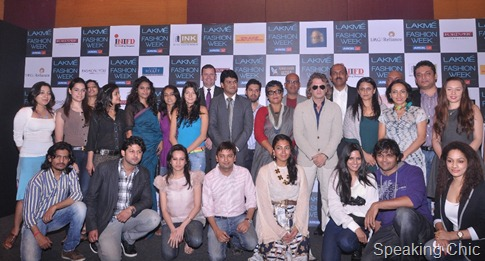 LFW Participating Designers and Sponsors for Summer Resort 2012 - 2