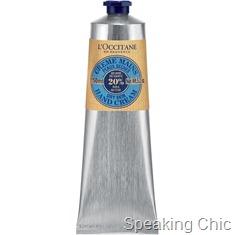 LOcccitane hand cream