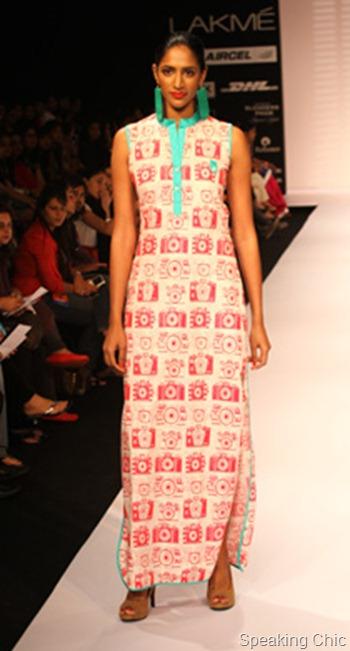 Masaba Gupta at LFW S/R 2012