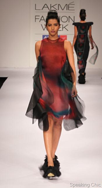 Megha Garg dress at LFW S/R 2012