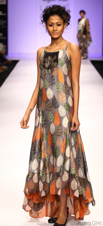 Neha Agarwal at LFW S/R 2012
