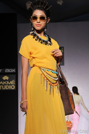 Nitya Arora at LFW S/R 2012