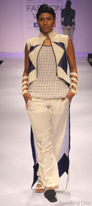Nupur Kanoi at LFW S/R 2012
