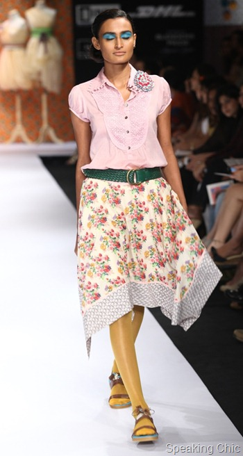 PRIYADARSHINI RAO at LFW S/R 2012