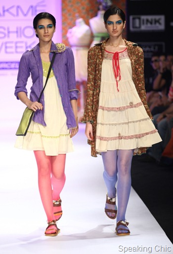 Mineral by PRIYADARSHINI RAO at LFW S/R 2012