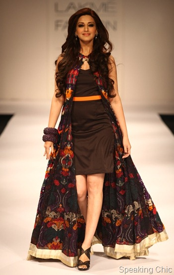 Siddhartha Tytler at LFW S/R 2012