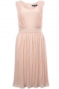 French Connection pleated dress