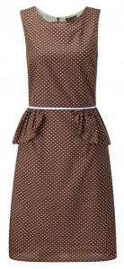 Fever London peplum dress- Rock.in
