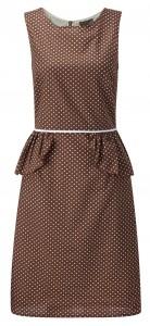 Fever London peplum dress- Rock.in