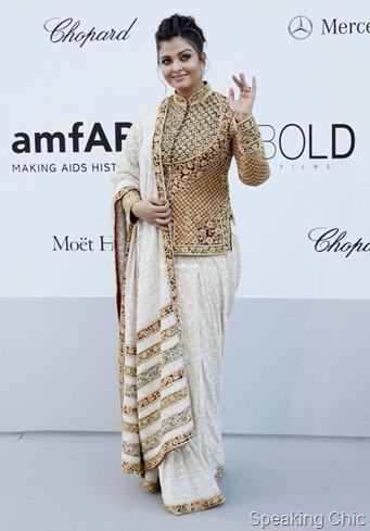 Aishwarya Rai Bachhan Cannes 2012