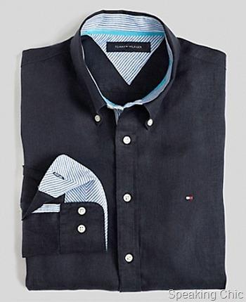 Tommy Hilfiger-linen shirt